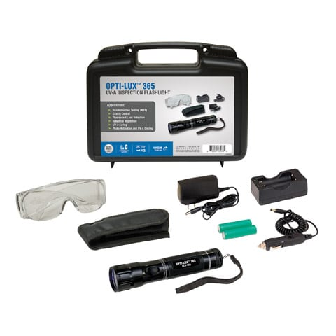 OPTI-LUX™ 365 leak detection kit