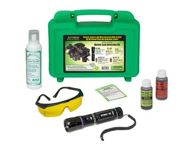 Marine leak detection kit