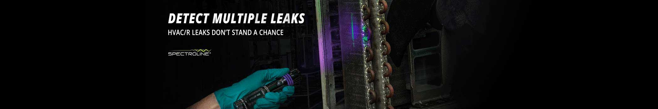 Spectroline HVAC/R Fluorescent Leak Detection