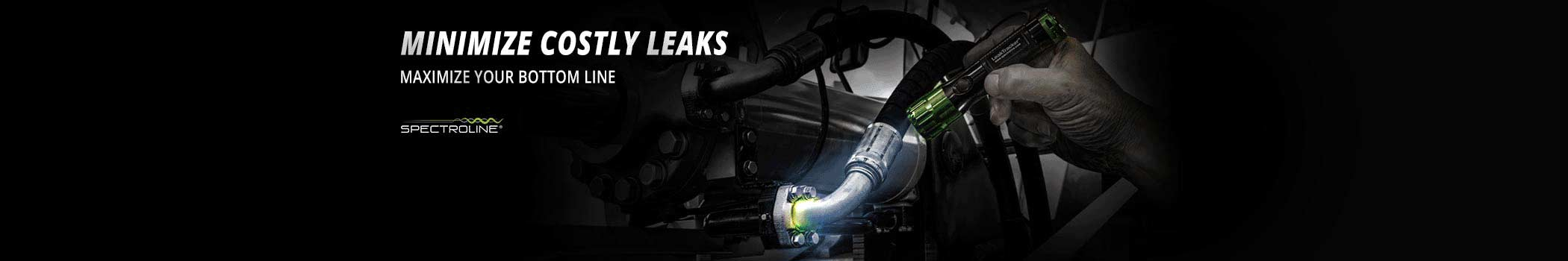 Spectroline Industrial Fluorescent Leak Detection