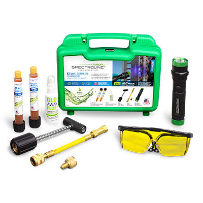 EZ-Ject™ Fluorescent Leak Detection Kit - Spectroline