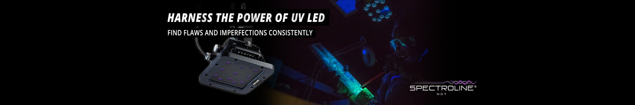 Highest Quality NDT UV LED Lamps