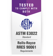 UV Lights in Compliance with Rolls-Royce RRES 90061 and ASTM E3022