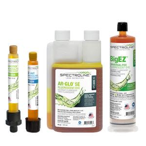 Colorants fluorescents pour la détection de fuites CVC/R