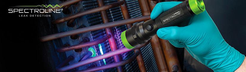 AC Fluorescent Leak Detection