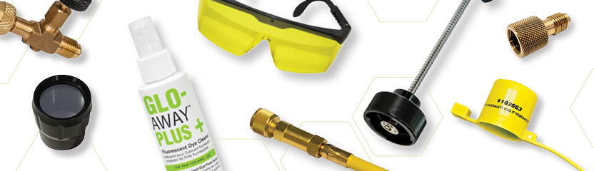 HVAC Leak detection tools and replacement parts